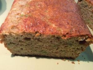 Bizcocho de pimiento verde y mozzarela. Bizpireta