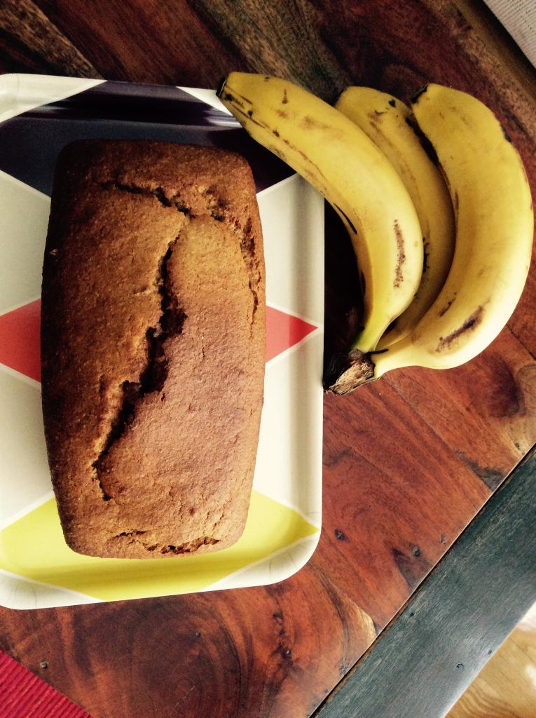 Bizcocho de plátano (Banana bread). Bizpireta